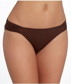 Sunsets Java Shirred Swim Bottom