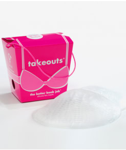 Commando Takeouts® Silicone Gel Breast Enhancers