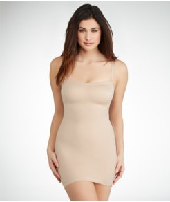 TC Fine Intimates Medium Control Strapless Slip
