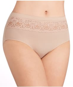 TC Fine Intimates Wonderful Edge Lace Trim Brief