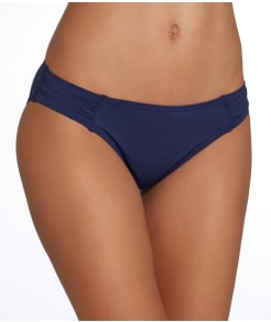 Tommy Bahama Pearl Solids Side Shirred Bikini Bottom