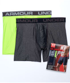Under Armour The Original 6'' Boxerjock Boxer Brief  2-Pack