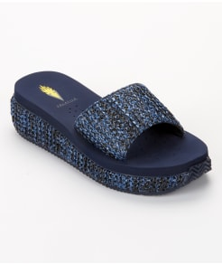 Volatile Danni Slide Wedge Flip Flops