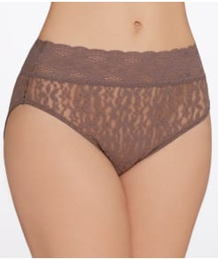 Wacoal Halo Lace Hi-Cut Brief