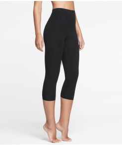 Yummie by Heather Thomson Compact Cotton Medium Control Capri Leggings