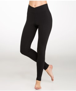 Yummie by Heather Thomson Hannah Cotton Wow Slimming Yoga Leggings