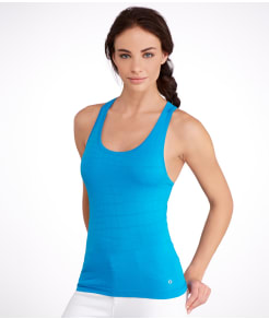 Yummie by Heather Thomson Daria Seamless Jacquard Yoga Tank