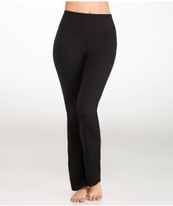 Yummie by Heather Thomson Jodi Cotton Control Boot-Cut Shaping Pants