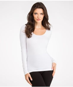 Yummie by Heather Thomson Karlie Seamlessly Shaped Cotton Everyday Shaping Top