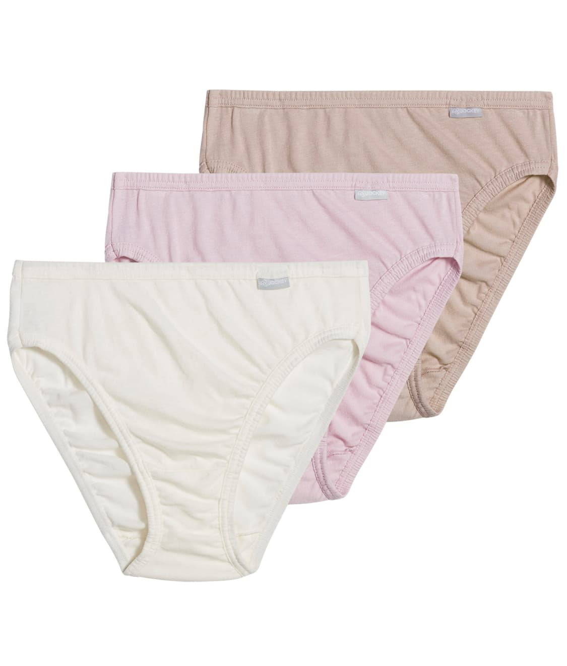 ff41a399c62 See Plus Size Elance® French Cut Brief 3-Pack in Pink   Ivory