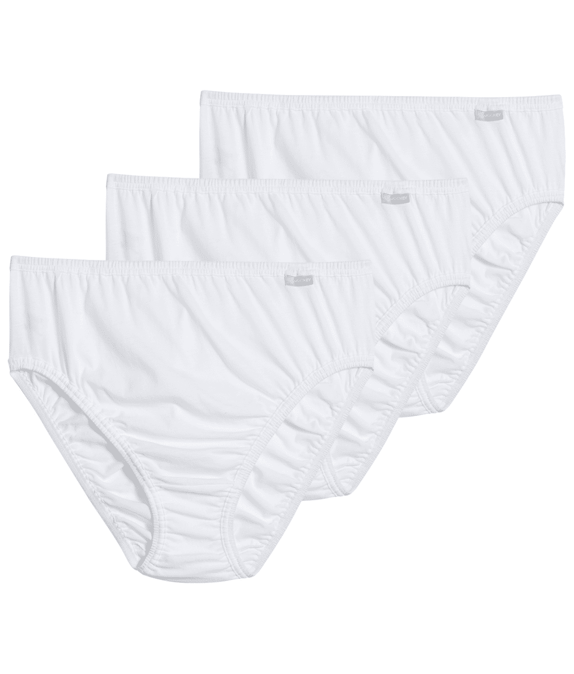 f5500cf3add See Plus Size Elance French Cut Brief 3-Pack in White