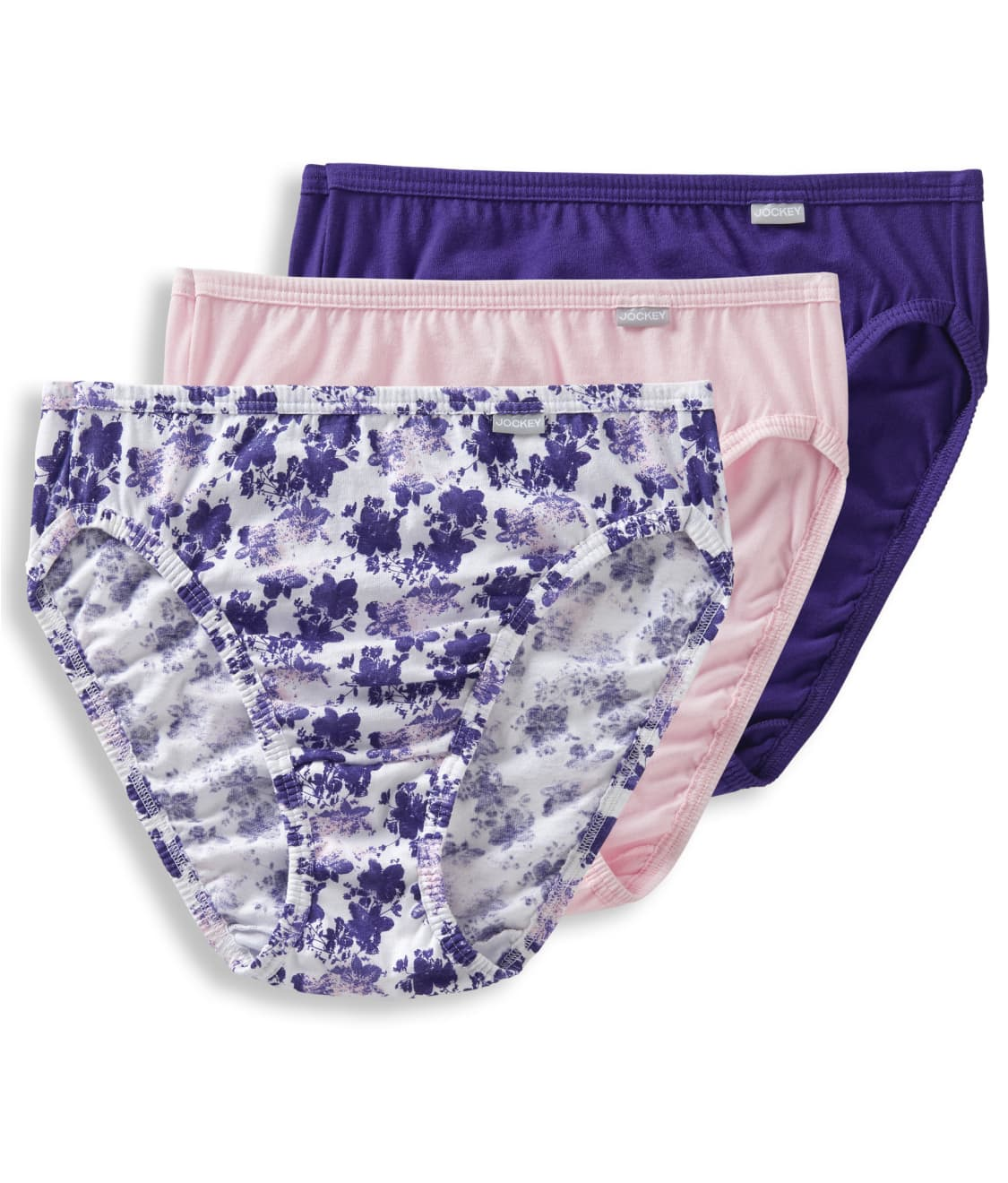810a1ed2801 See Elance French Cut Brief 3-Pack in Plum   Lilac   Pink