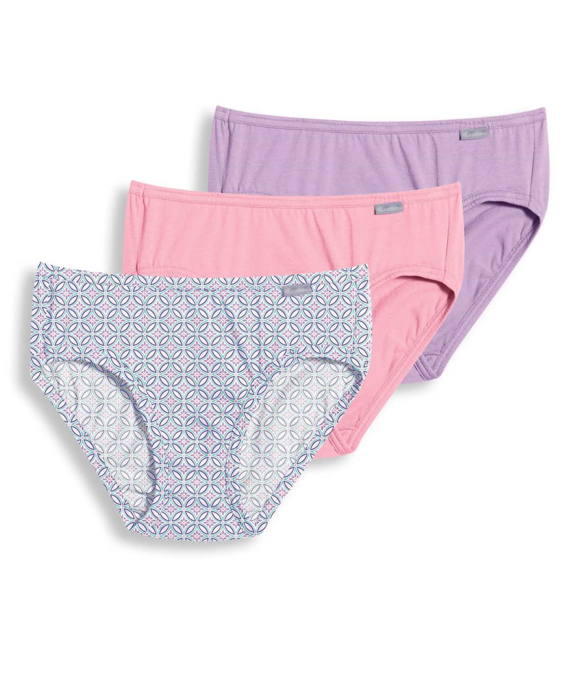 fcc7d0e5ce38e See Elance® Bikini 3-Pack in Plum   Pink   Print