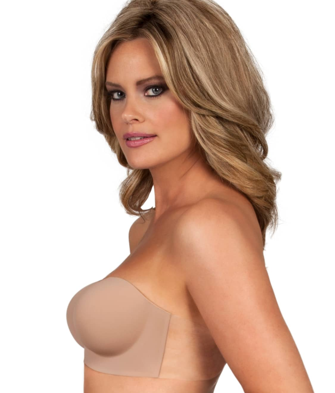 Fashion Forms Voluptuous Backless Strapless Adhesive Bra Nude FASHION HAVEN