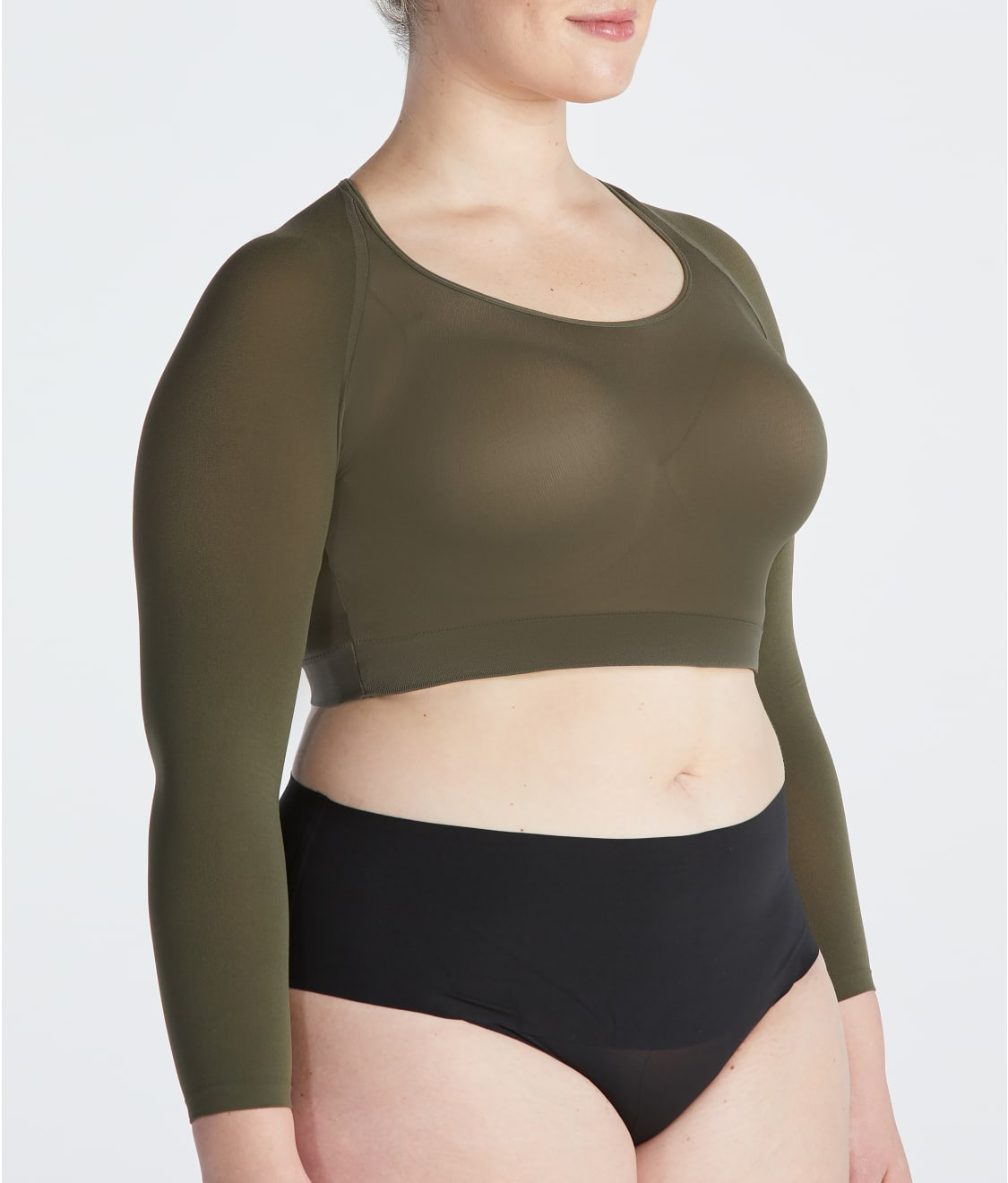 acd20e035da38a SPANX Plus Size Arm Tights Layering Piece | Bare Necessities (20155P)
