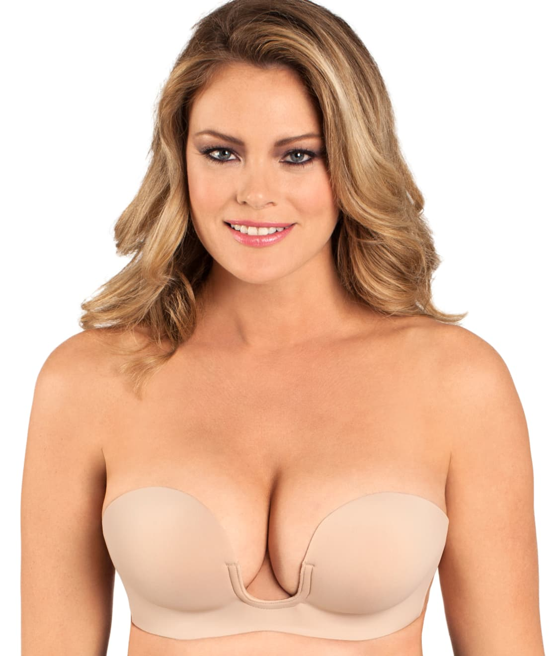 Fashion Forms Voluptuous U Plunge Backless Strapless Bra  1e75f4ced