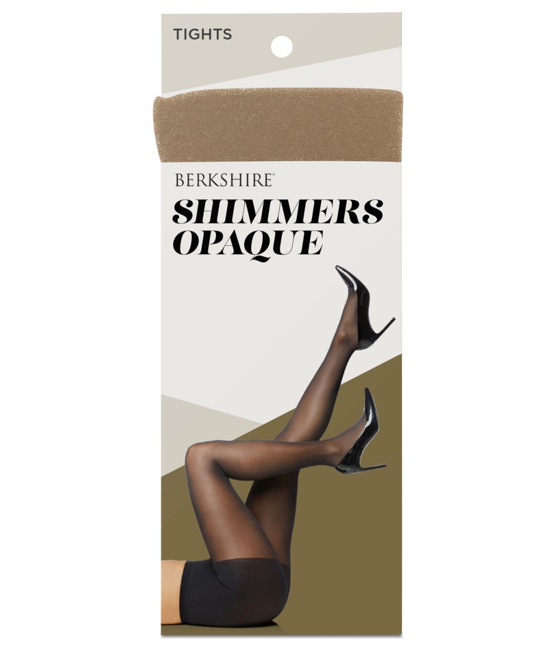BN Berkshire Shimmers Ultra Sheer Control Top Tights Size 2 Ivory Wedding