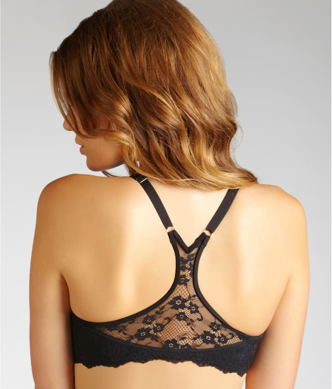 f766e07690 See One Fab Fit® Extra Coverage T-Back T-Shirt Bra in Black