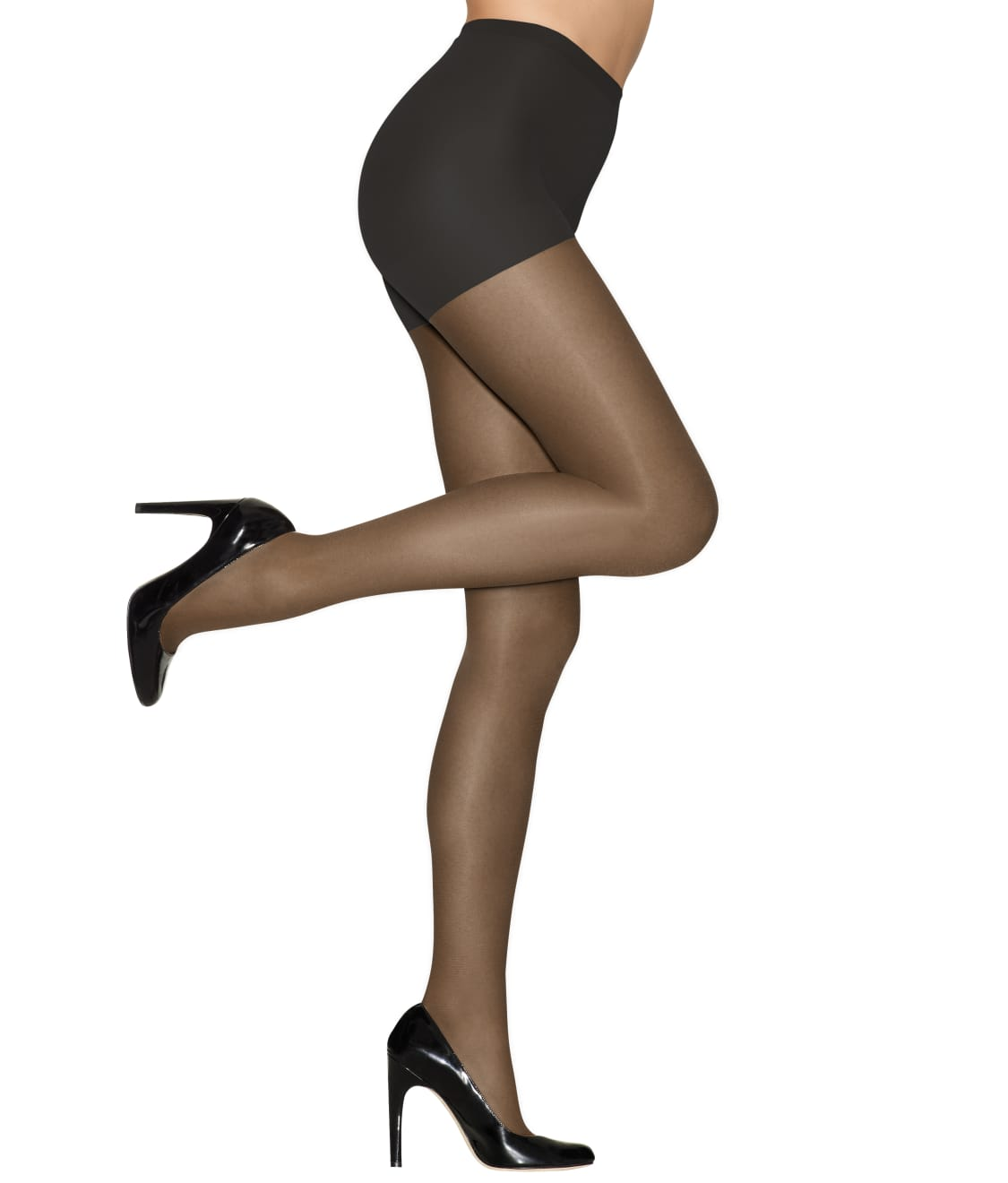 628d9f665e3 See Hanes Alive Full Support Control Top Pantyhose in Jet