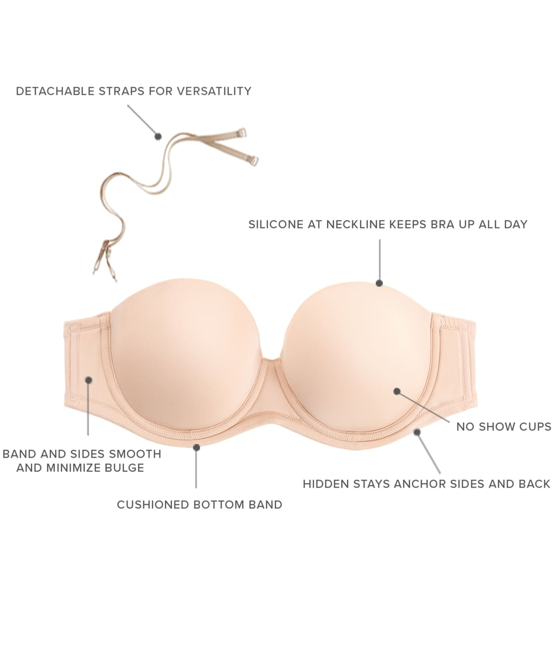 7ef88f36a93 See Red Carpet Strapless Bra in Details