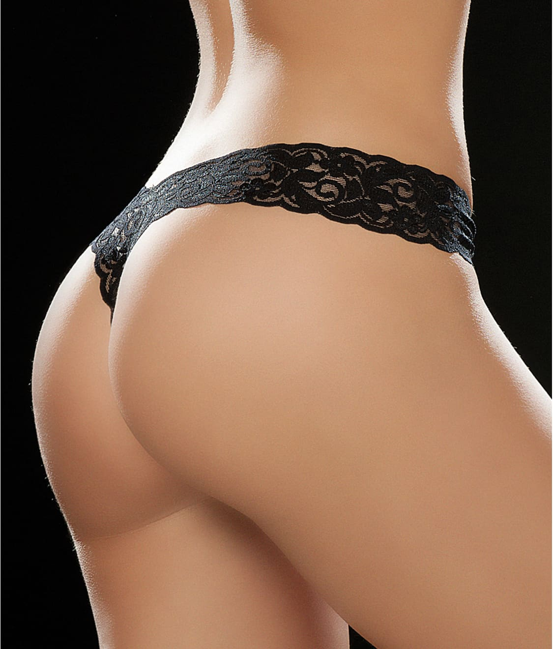 f5e350ed9b6 See Sexy Lace Thong in Black