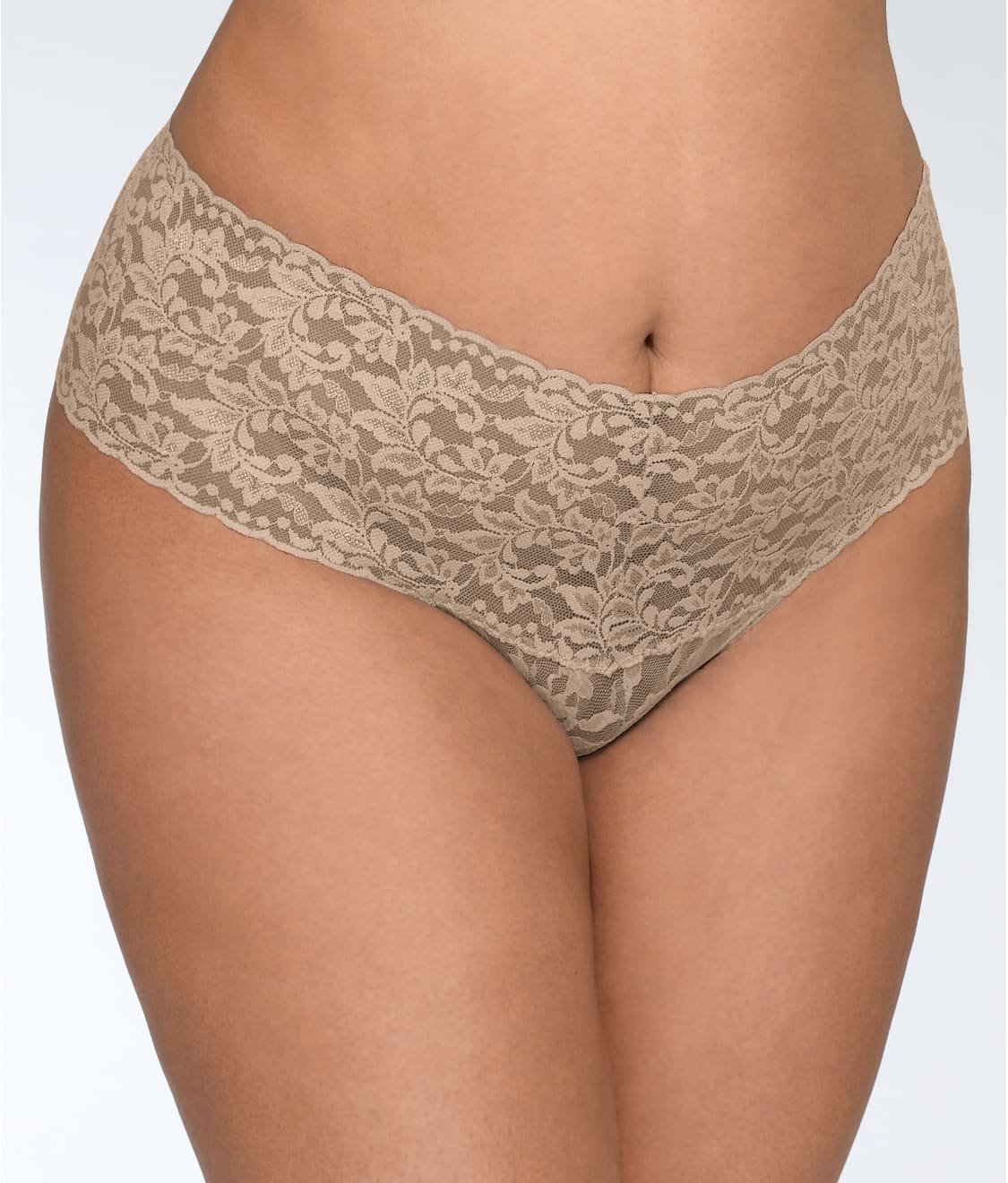 4c7fdb69a Hanky Panky Plus Size Signature Lace Retro Thong
