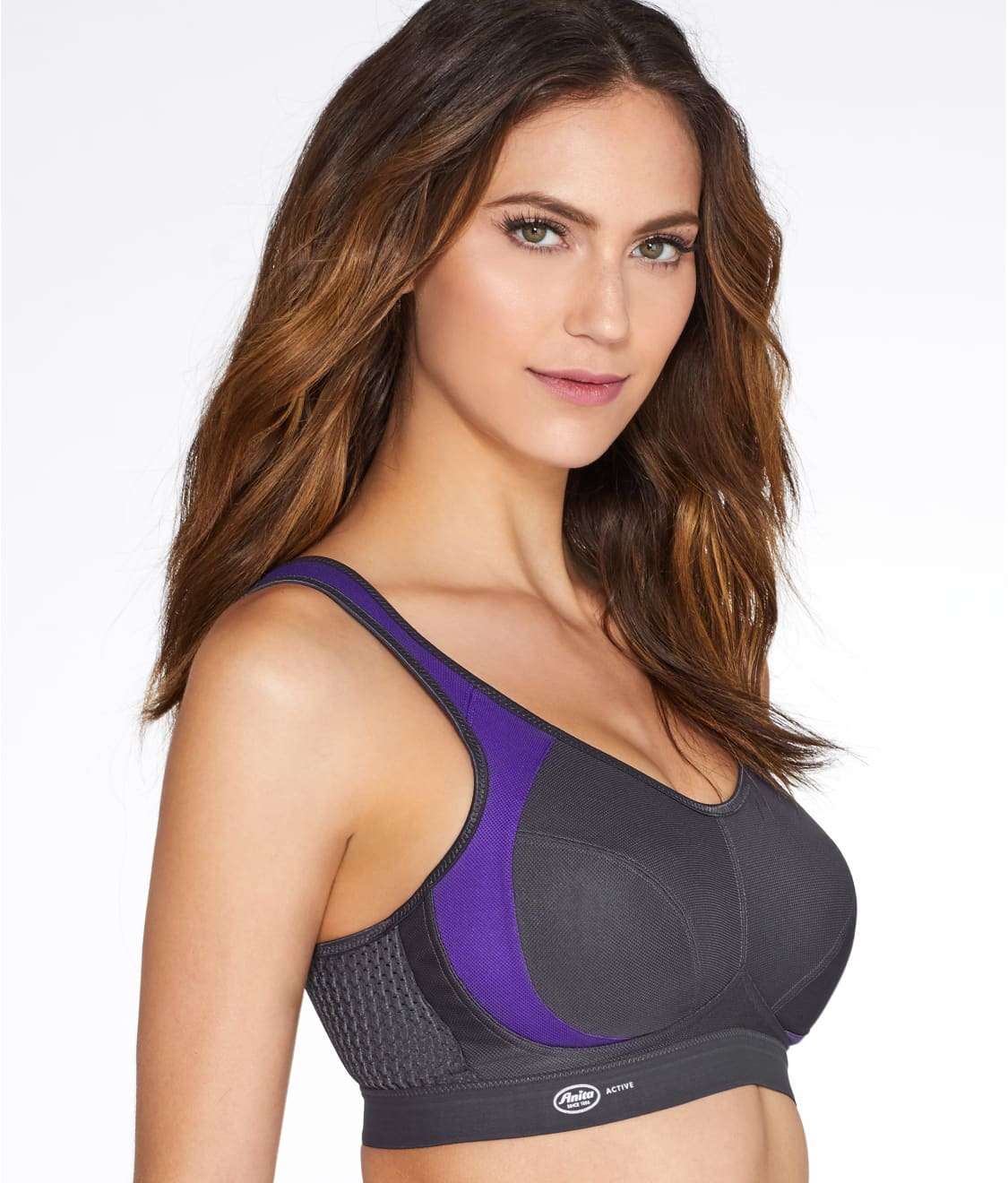 efb4732b15 See High Impact Wire-Free Sports Bra in Purple