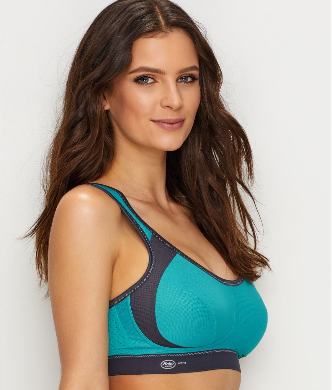 b806dbc284 See High Impact Wire-Free Sports Bra in Peacock   Anthracite