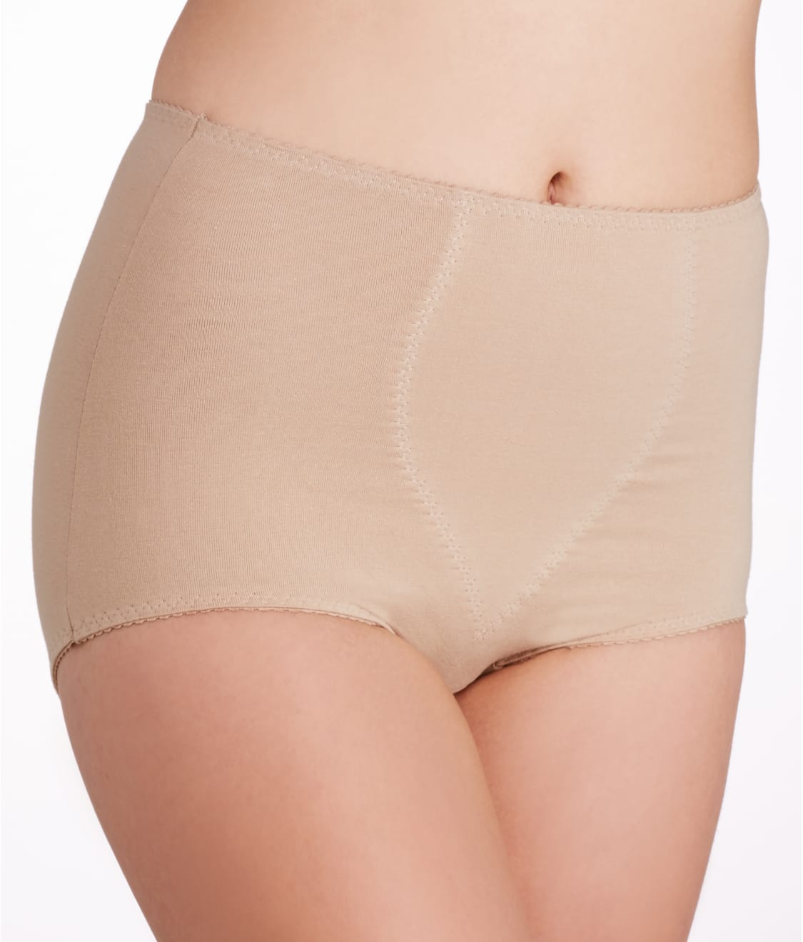 e1755a1ba2b See Smoothing Cotton Brief 2-Pack in Nude