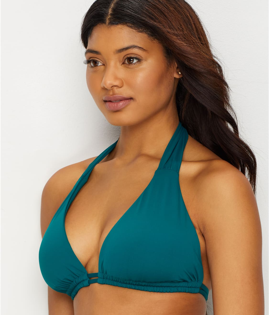 4b8fccaddf See Color Code Bikini Top D-DDD Cups in Fern