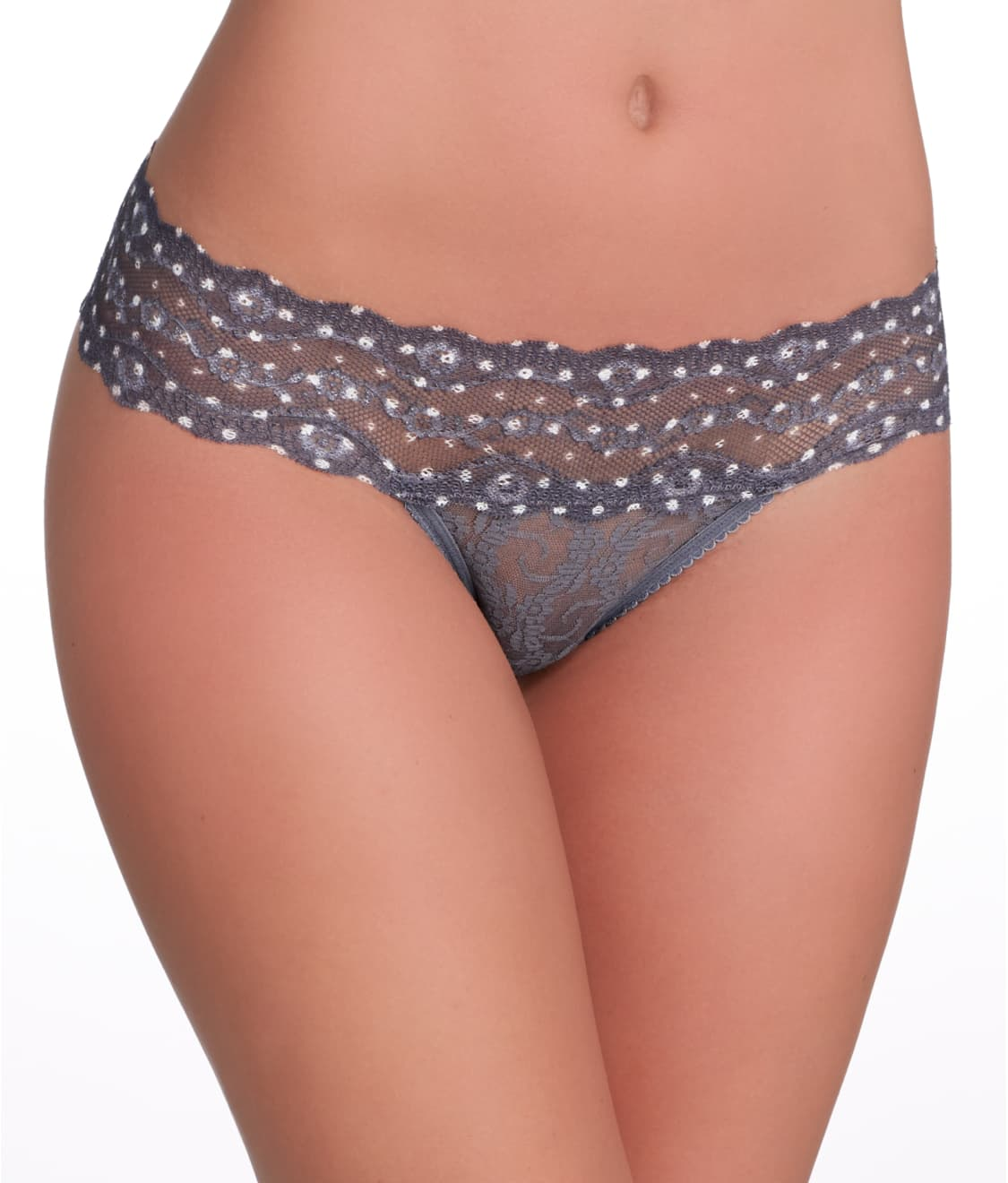 63c9c3ccebc b.tempt'd by Wacoal Lace Kiss Thong   Bare Necessities (970182)