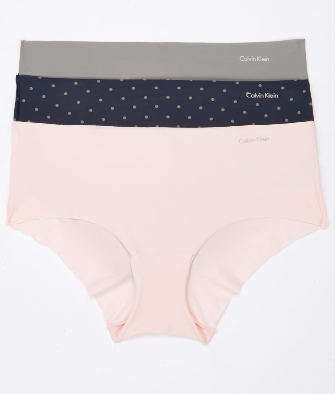 a992da1847ab Calvin Klein Invisibles Hipster 3-Pack   Bare Necessities (QD3559)