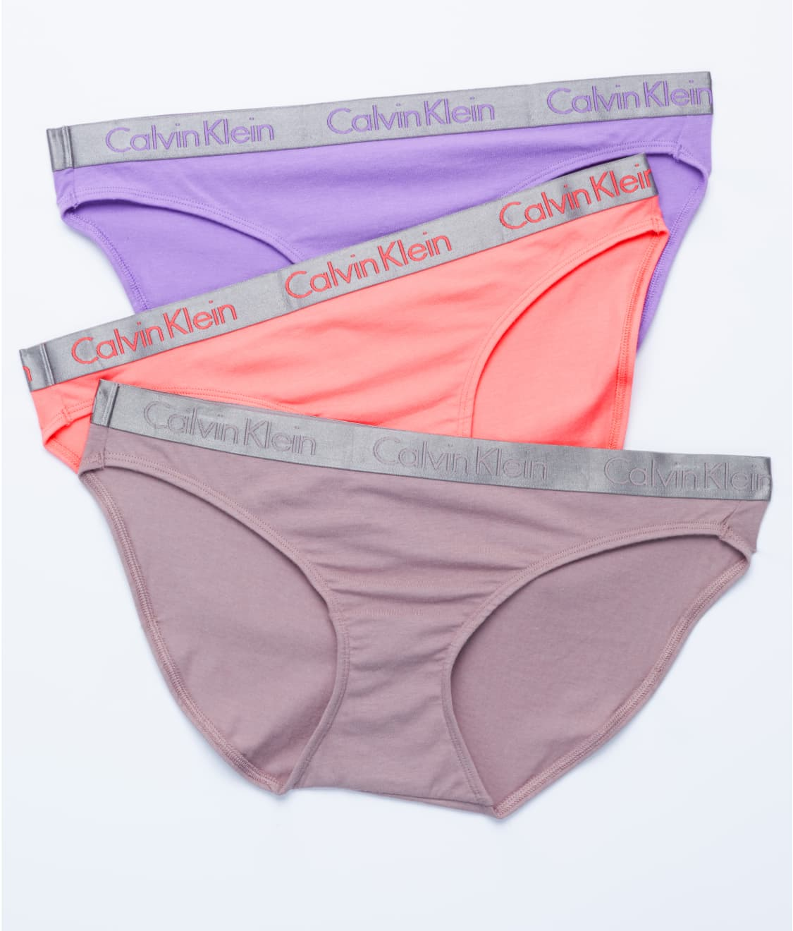 df0d6c71934a Calvin Klein Radiant Cotton Bikini 3-Pack | Bare Necessities (QD3589)