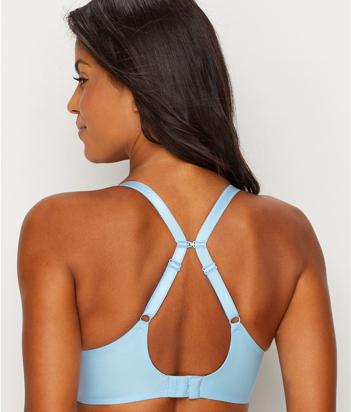 26a31938ef See Modern Invisible Plunge T-Shirt Bra in Blue