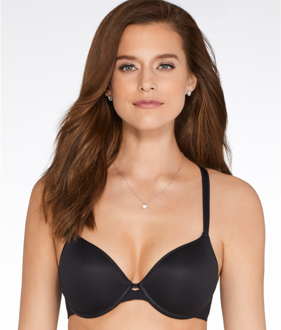 6537aacd32 See Modern Invisible Plunge T-Shirt Bra in Black