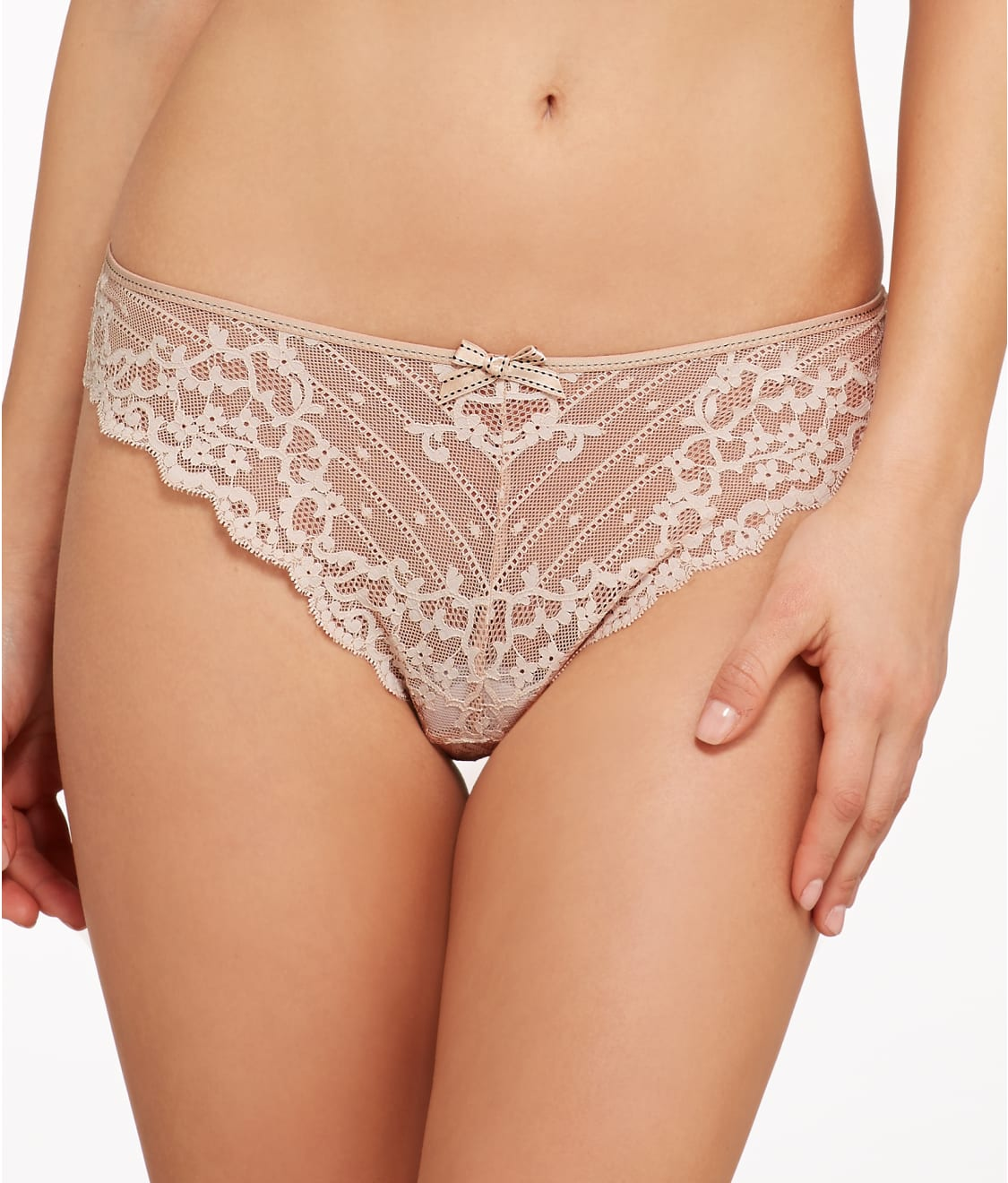 chantelle rive gauche tanga panty 3089 at barenecessities