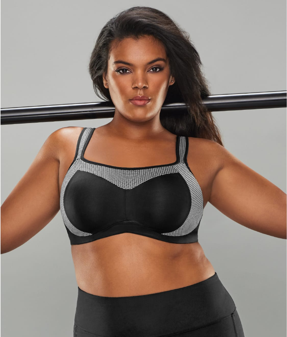 85c63774a6345 Curvy Couture Confident Fit High Impact Wire-Free Sports Bra