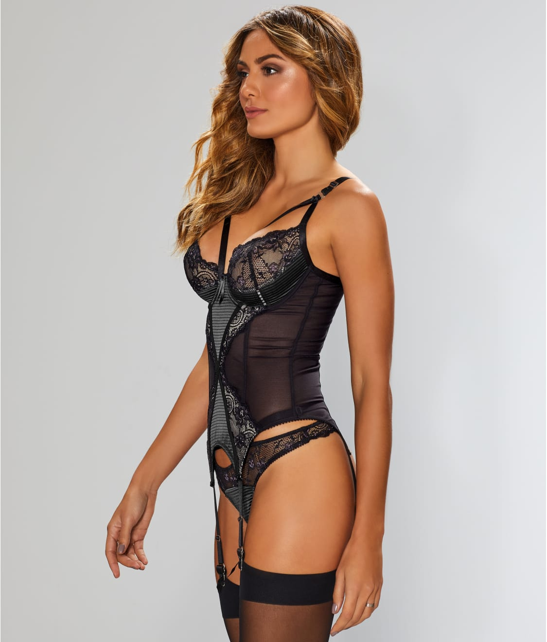 21a9a2fd2a1 See Madame X Bustier in Black. Dita Von Teese  ...