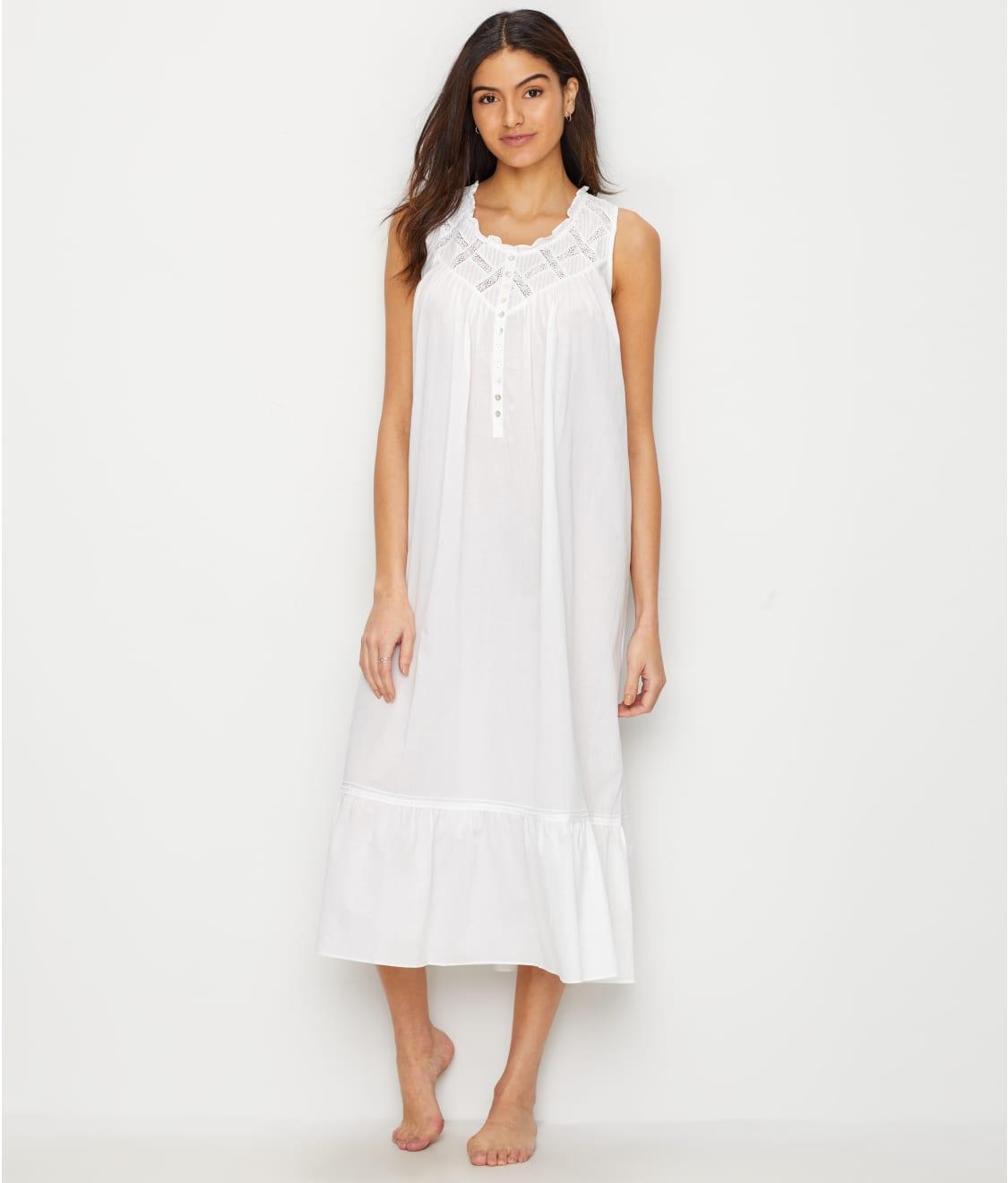 Eileen West Classic Lawn Ballet Woven Nightgown  12a62711b