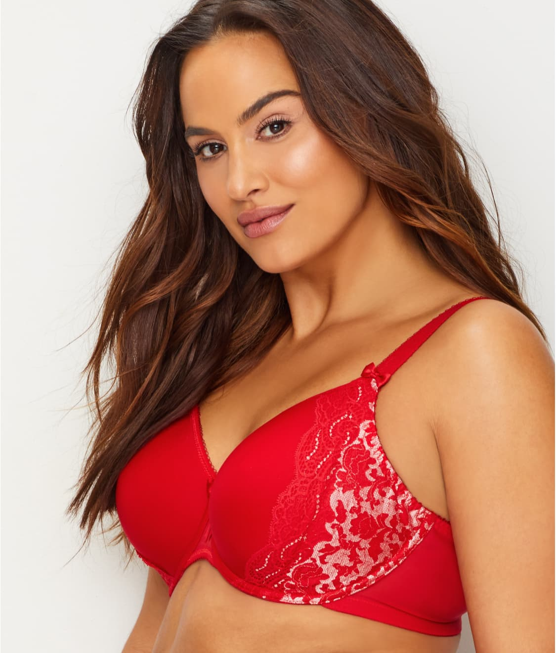 539a7ea3181 See Amelia T-Shirt Bra in Red