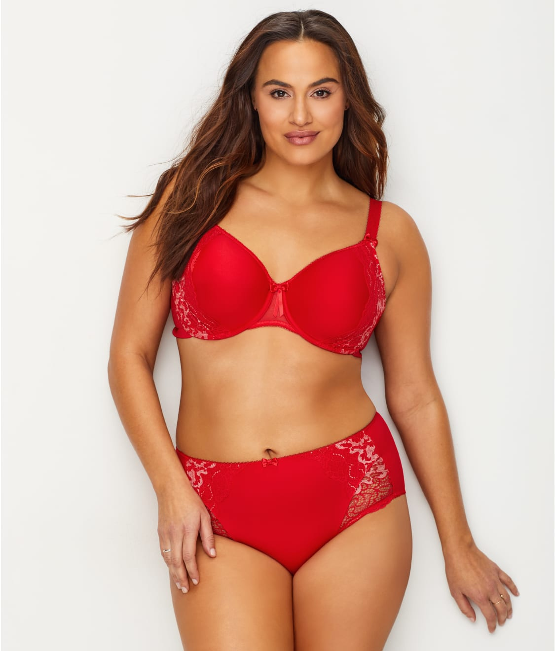 9b0afb74377 See Amelia T-Shirt Bra in Red. Elomi  ...