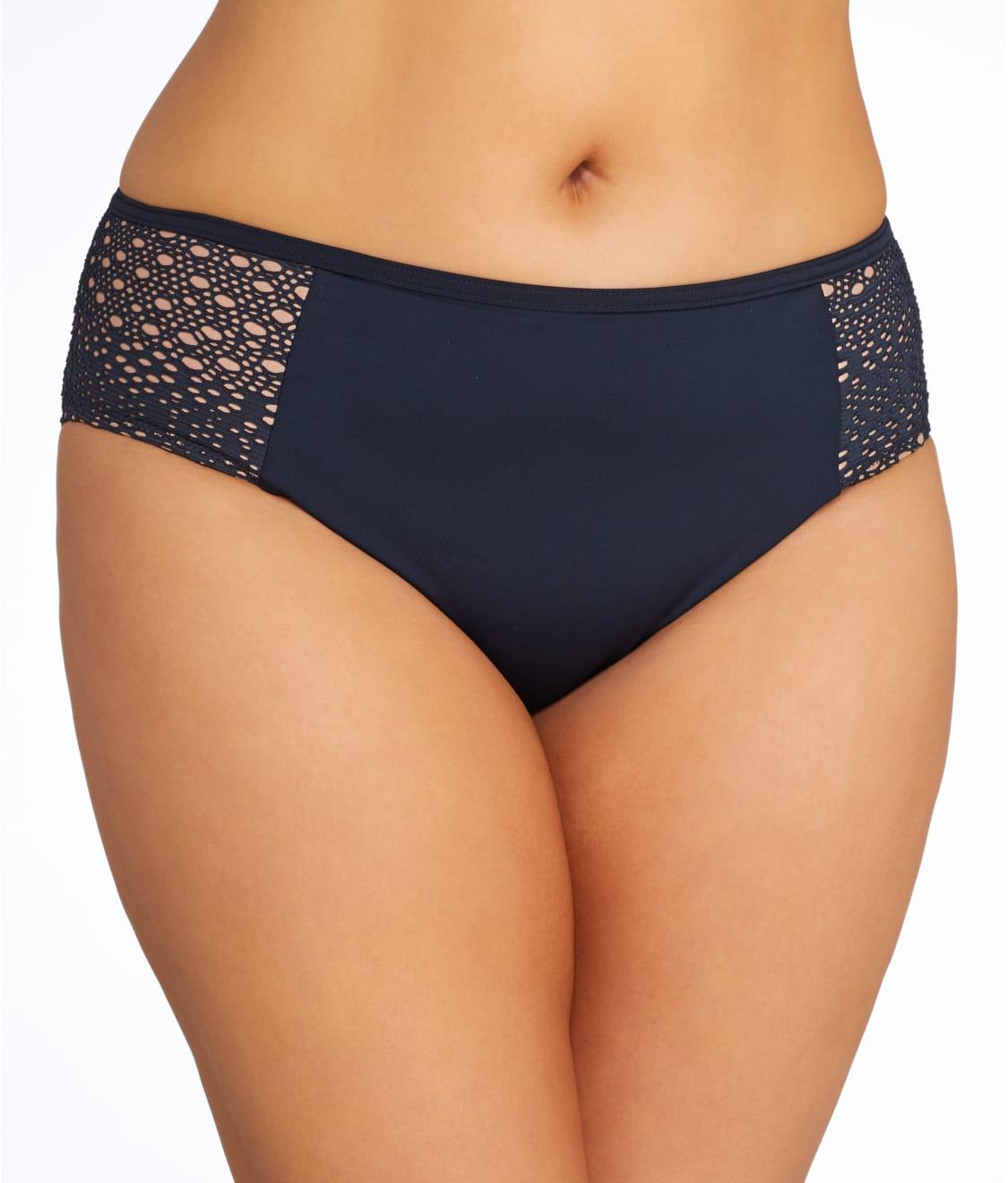 Elomi Swimwear Indie Mid Rise Bikini Brief//Bottoms Red 7534
