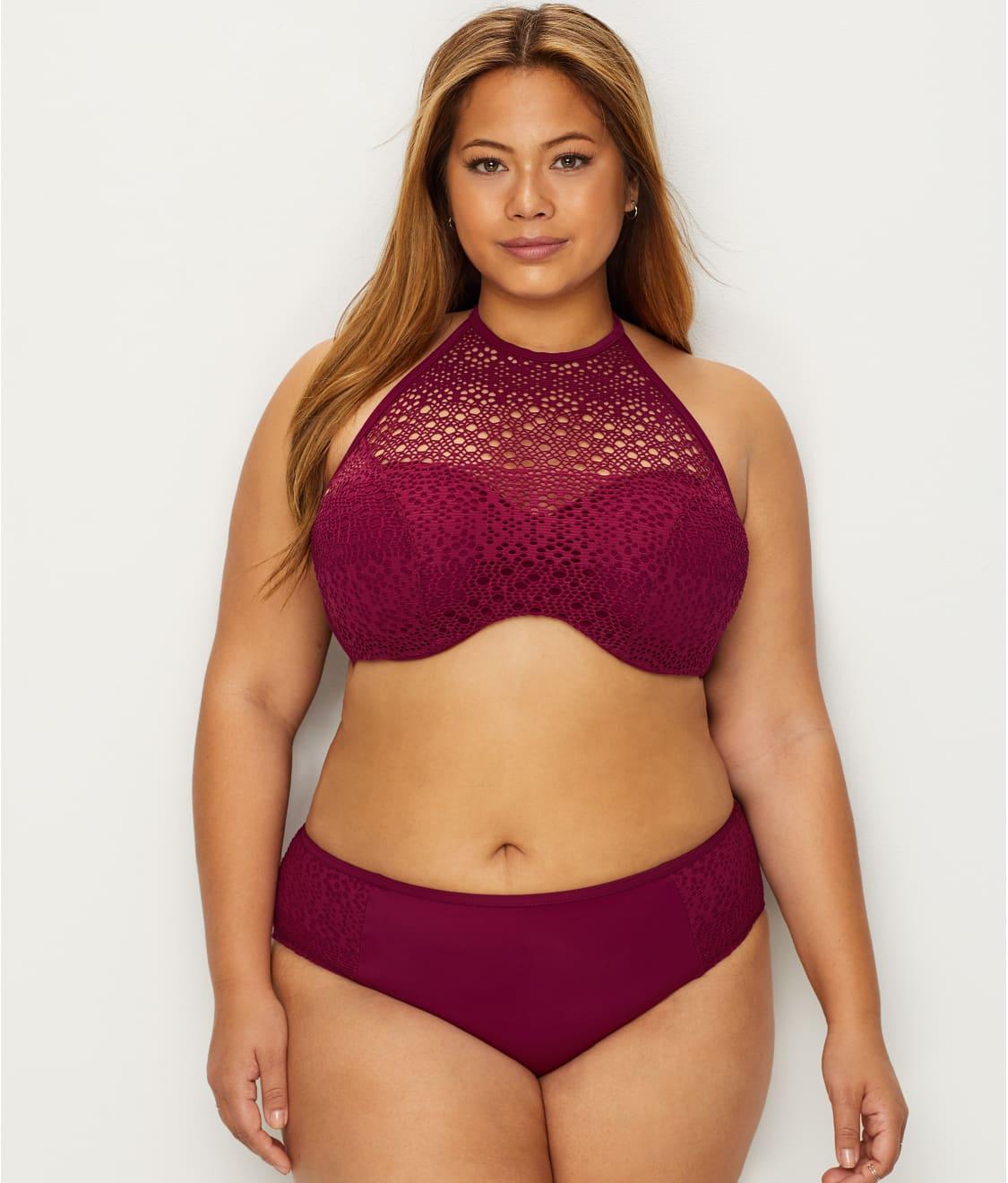 2209a1b18e Elomi Indie High Neck Bikini Top | Bare Necessities (ES7537)