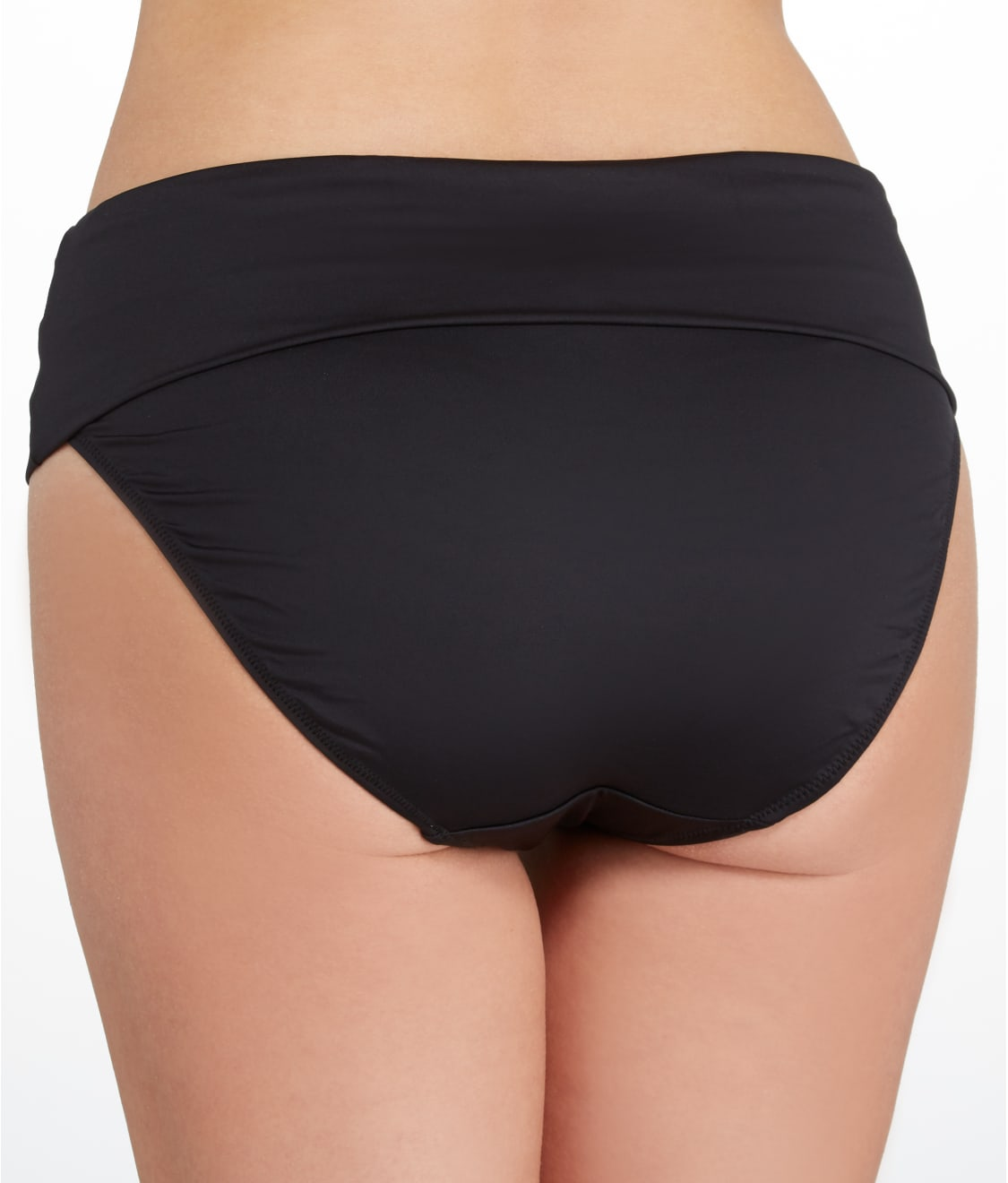 a62bee0f4c7e1 See Versailles Fold-Over Bikini Bottom in Black