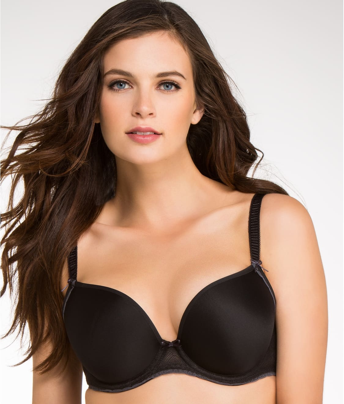 2b168c62d See Deco Vibe Convertible Plunge T-Shirt Bra in Black