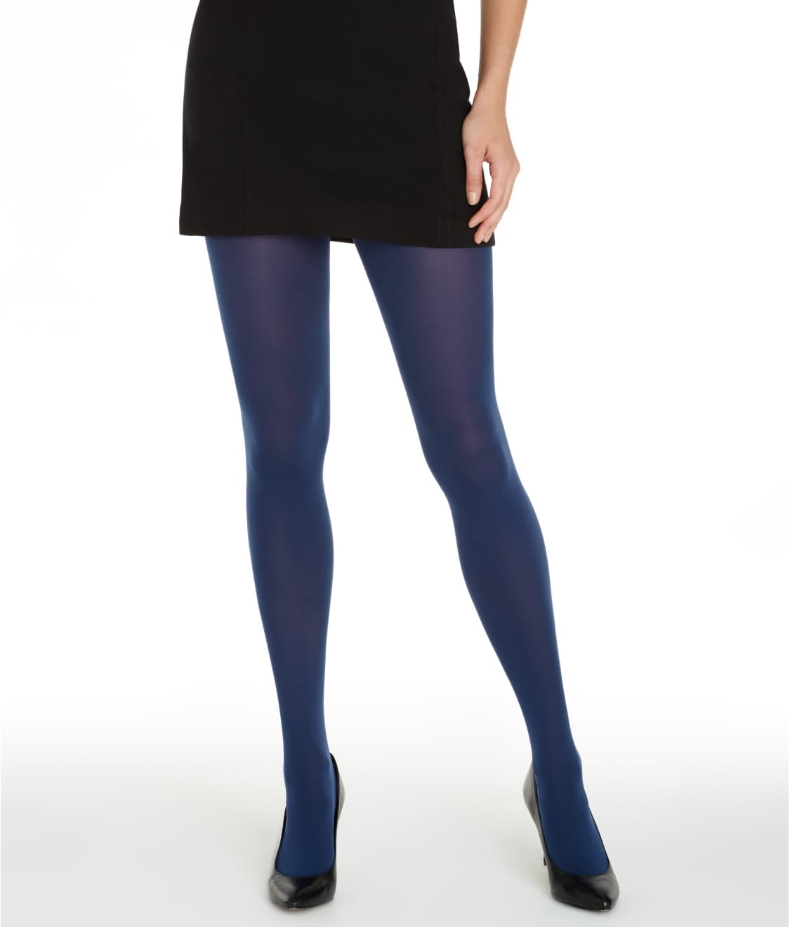 cdf08e8342797 HUE Super Opaque Control Top Tights | Bare Necessities (6620)