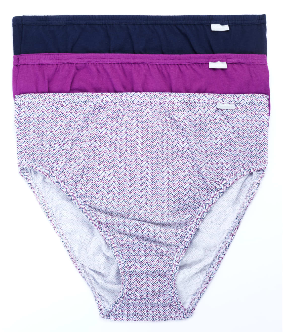 3d8212700c1 See Plus Size Elance French Cut Brief 3-Pack in Violet Assorted