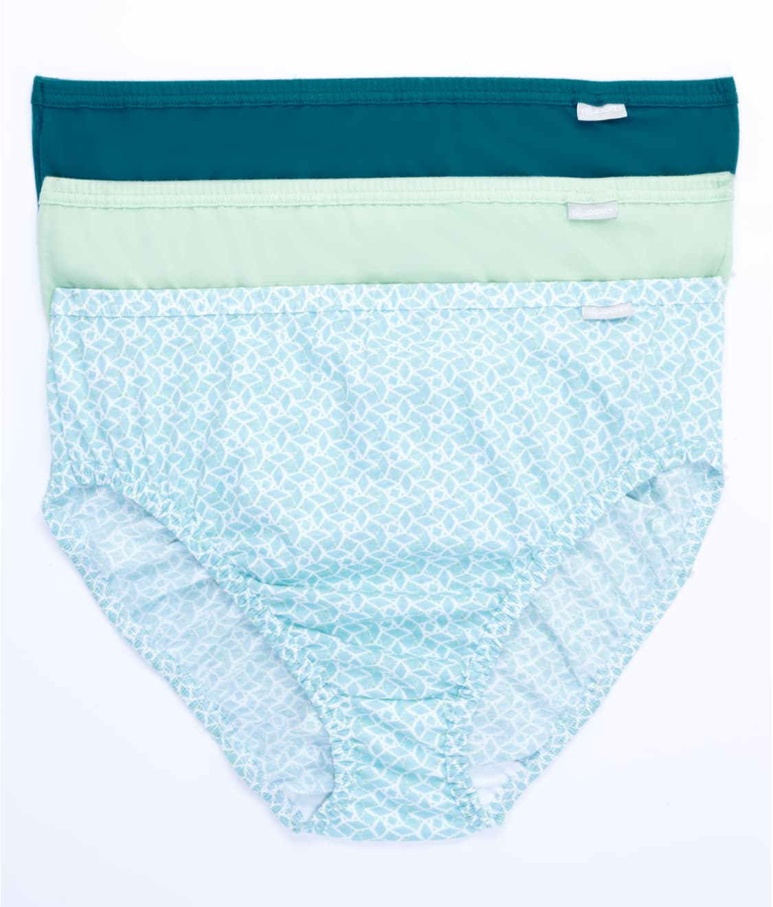 5d868f57d91 See Plus Size Elance French Cut Brief 3-Pack in Soft Mint