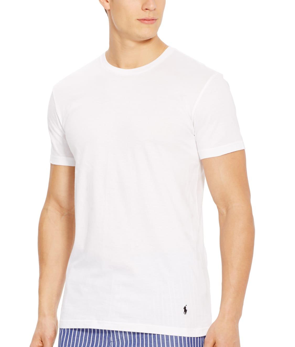 Polo Ralph Lauren Classic Crew Neck T Shirt 3 Pack Bare