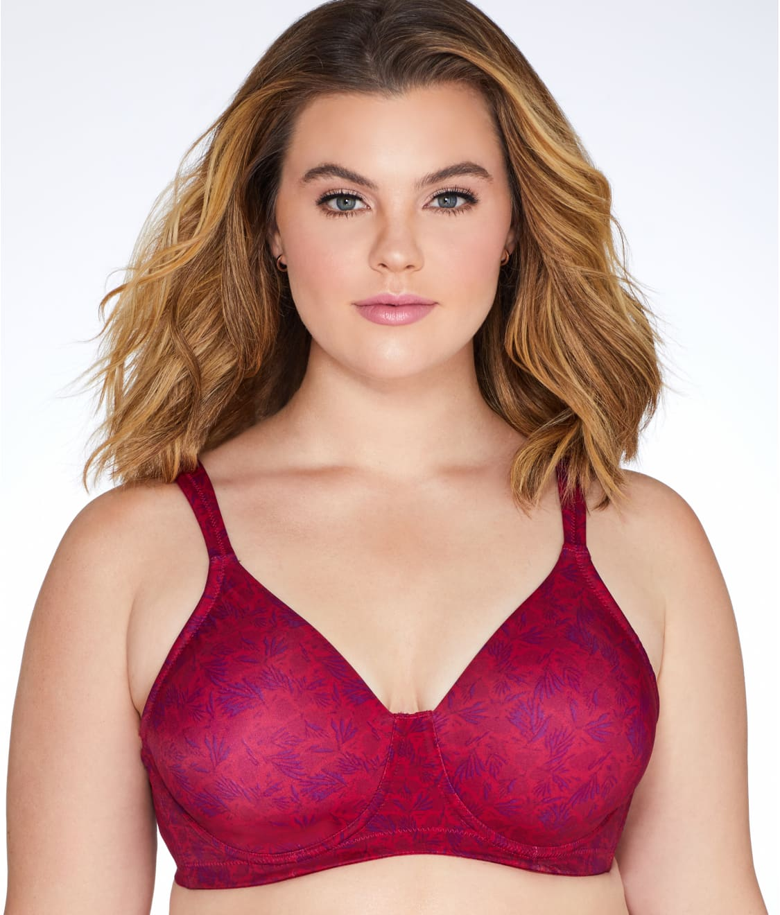 9d0fa09dd7 See Smooth Contour Bra in Ruby Red Floral